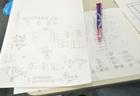 一生懸命問題に取り組んだ証です。難しい問題も図を描いて考えれば怖くない!