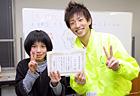 2年生成績優秀賞、みっちゃん達成度テストでイチバンの成績! おめでとう!!
