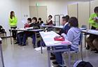 少人数制のクラス分けなので質問もしやすい環境です。